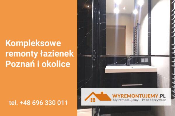 Nowa realizacja - remont łazienki Poznań i okolice