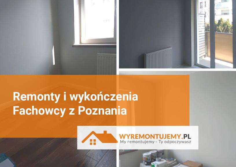 Remonty i wykończenia - Poznań i okolice