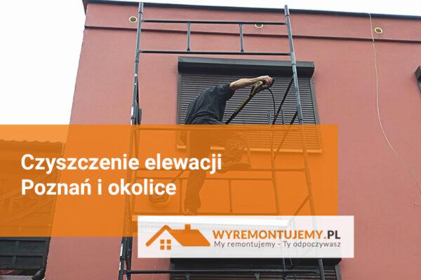 Czyszczenie elewacji - Poznań i okolice
