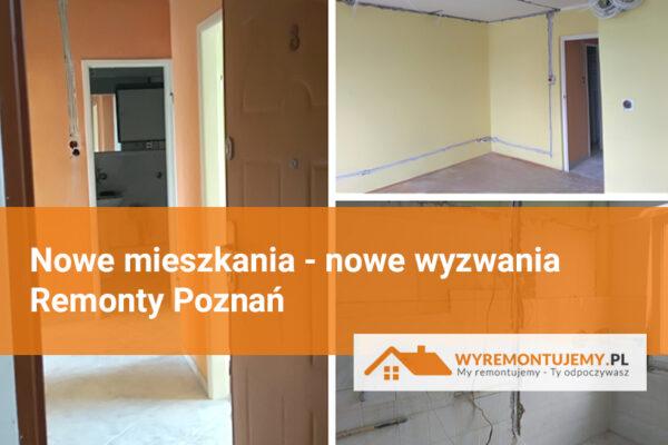 Nowe mieszkania do remontu - Poznań i okolice