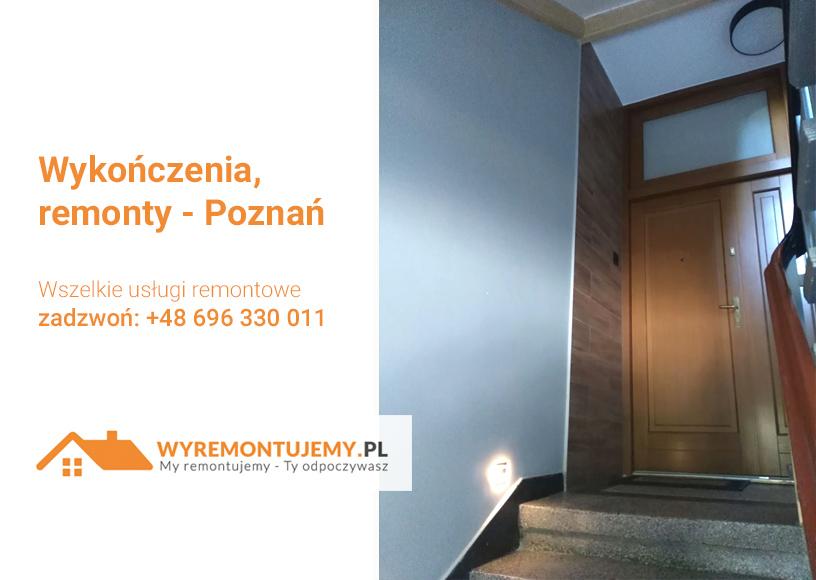 Wykończenia, remonty - Poznań
