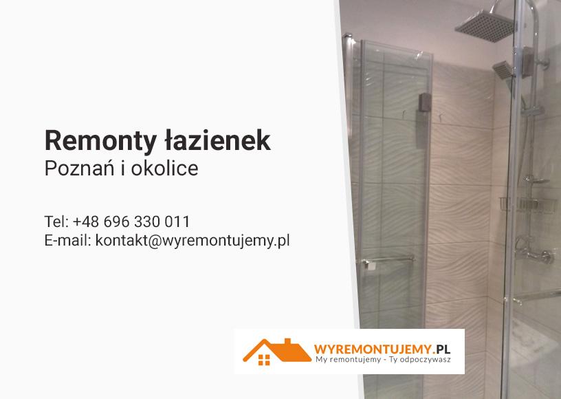 Remont łazienki - Poznań i okolice
