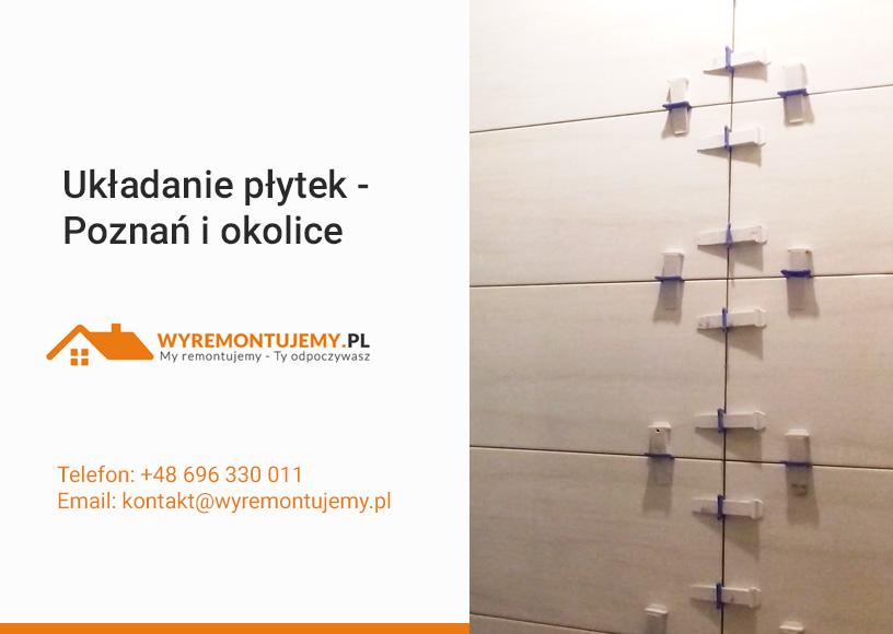 Układanie płytek - Glazurnik Poznań i okolice
