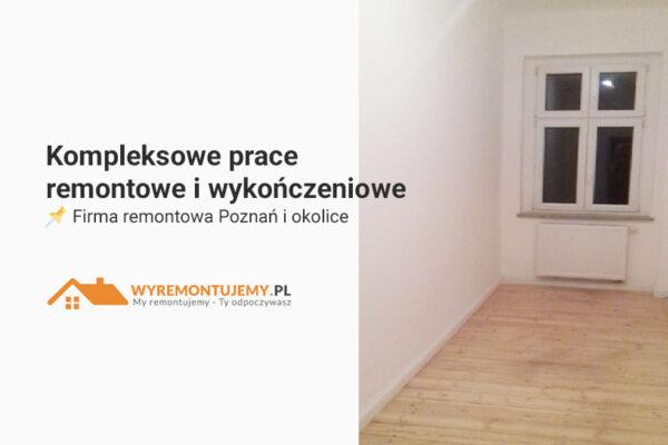 Remonty i wykończenia wnętrz - Poznań